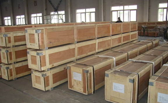 Packing of Corten Steel S355JOWP Welded Pipes & Tube