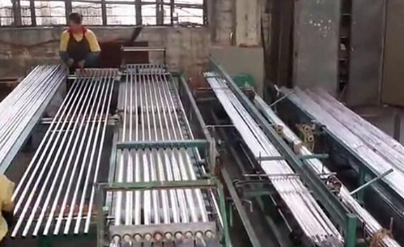 Packing of Mild Steel Plates