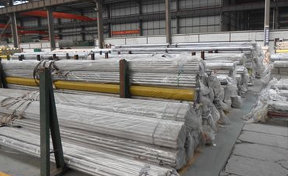 Packing of SS 316Ti Seamless Round Pipes