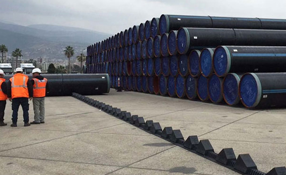 Packing Of API 5L PSL 1 GR.A Line Pipes