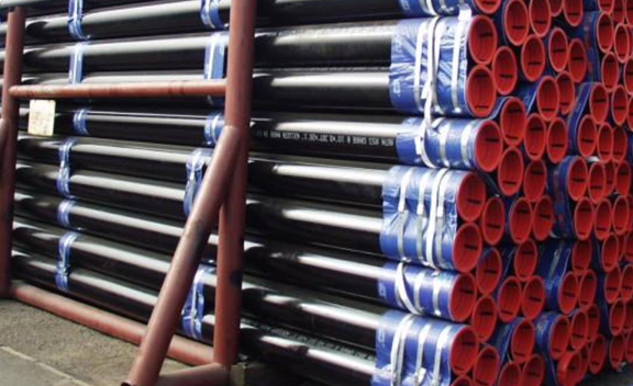 Packing Of EN 10219 S235JRH PIPE