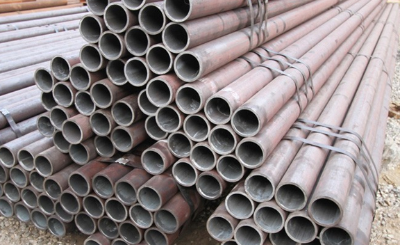 Packing of Corten Steel S355J2WP Pipes & Tube