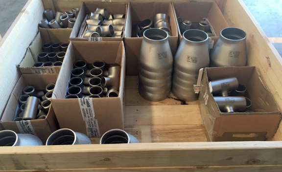 Packing of Stainless Steel 347H Pipe Fittings